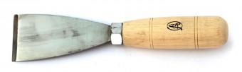 Hosszú élű kopjafa faragó véső