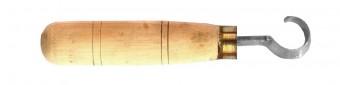 Balkezes kanálfaragó kés 16 mm