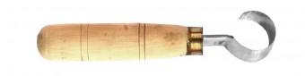 Balkezes kanálfaragó kés 25 mm