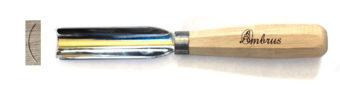 25 mm széles szirmozó véső